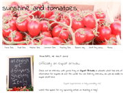 Sunshine and Tomatoes - The blog of a British expat in Italy
