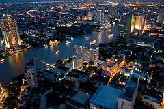 Many expats moving to Thailand work in Bangkok