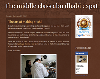 The Middle class Abu Dhabi expat blog icon