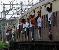 Train in Mumbai