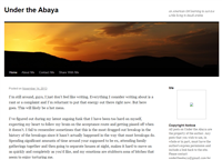 Under the Abaya - An expat blog about Saudi Arabia