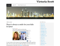 Victoria Scott - A British expat in Qatar