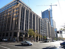 Many city employees work at the Twitter headquarters in San Francisco