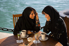 women in qatar