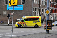 Ambulance in Amsterdam - Healthcare in the Netherlands
