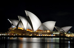 Sydney is famous for the Sydney Opera House