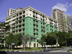 HDB accommodation in Singapore