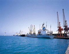 Jeddah port - shipping