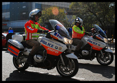 South African Police Service officers