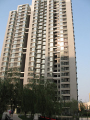 Apartment block in Beijing - Expat accommodation in China