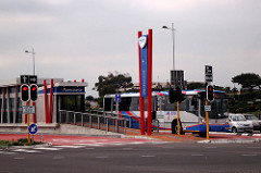 MyCiti Integrated Rapid Transport bus in Cape Town