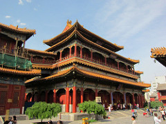 Yanghe temple in China - Culture shock in China