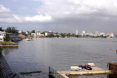 View of Victoria Island - Moving to Lagos