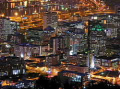 Central Business District in Cape Town