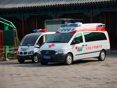 Chinese ambulance - Healthcare in China