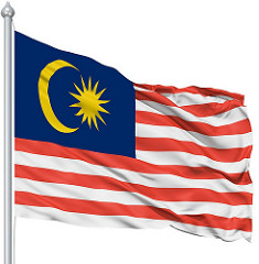 Malaysian flag - usual information on Malaysia